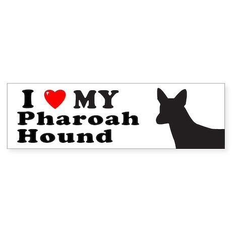 PHAROAH HOUND Bumper Sticker