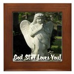 God Still Love You! Framed Tile