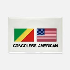 Congolese American Rectangle Magnet