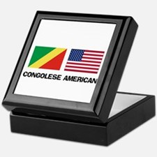 Congolese American Keepsake Box