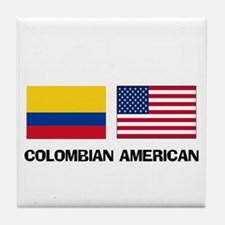 Cute Colombian Tile Coaster