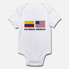 Cute Colombian women Infant Bodysuit