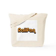 Railfan Tote Bag