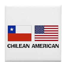 Chilean American Tile Coaster