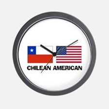 Chilean American Wall Clock