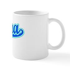 Retro Taniya (Blue) Mug
