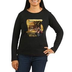 Pirate Wench Ship and Map T-Shirt