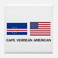 Cape Verdean American Tile Coaster