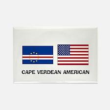 Cape Verdean American Rectangle Magnet