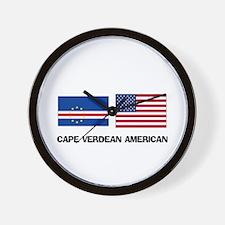 Cape Verdean American Wall Clock