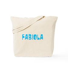Fabiola Faded (Blue) Tote Bag