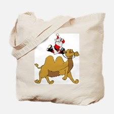Camel Rodeo Santa Tote Bag