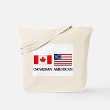 Canadian American Tote Bag