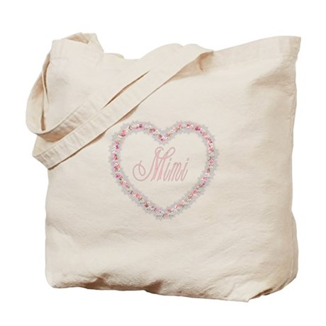 Mimi - Heart of Flowers Tote Bag