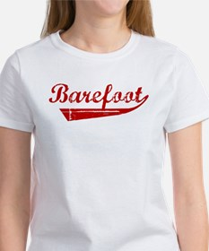 Barefoot (red vintage) Women's T-Shirt