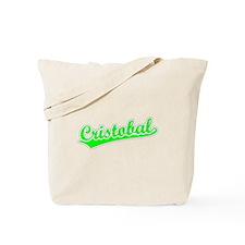 Retro Cristobal (Green) Tote Bag