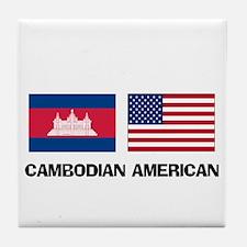 Cambodian American Tile Coaster