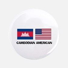 "Cambodian American 3.5"" Button"