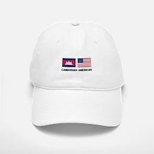 Cambodian American Baseball Baseball Cap