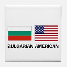 Bulgarian American Tile Coaster