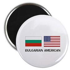 """Bulgarian American 2.25"""" Magnet (10 pack)"""