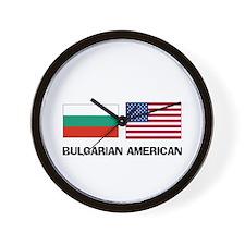 Bulgarian American Wall Clock