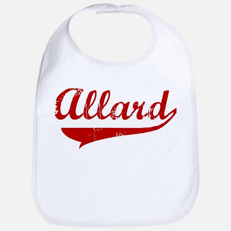 Allard (red vintage) Bib