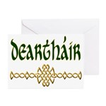 Brother in Gaelic (Knot) Note Cards (6)