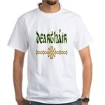 Brother in Gaelic (Knot) White T-Shirt