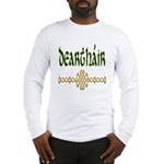 Brother in Gaelic (Knot) Long Sleeve T-Shirt