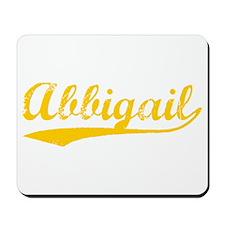Vintage Abbigail (Orange) Mousepad