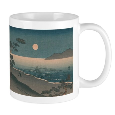Japan Beach Painting coffee cup