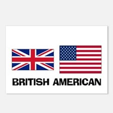 British American Postcards (Package of 8)