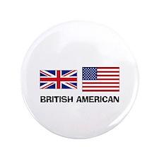 "British American 3.5"" Button"