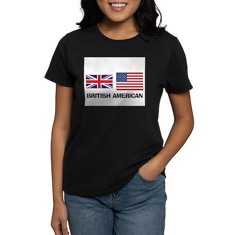 British American Women's Dark T-Shirt