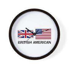 British American Wall Clock