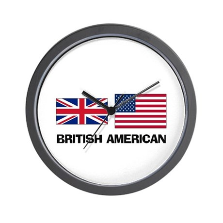 British American Wall Clock