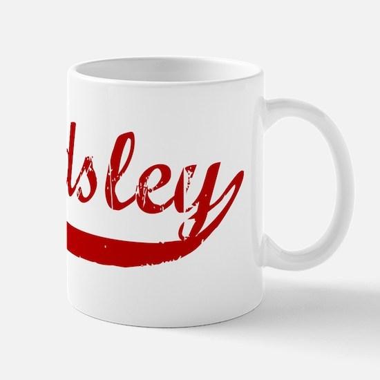 Beardsley (red vintage) Mug