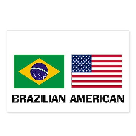 Brazilian American Postcards (Package of 8)