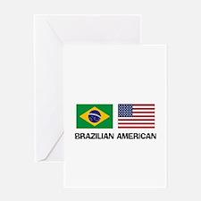Brazilian American Greeting Card
