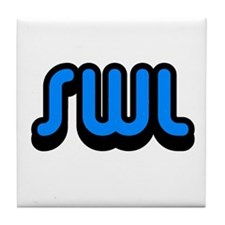 SWL (Short Wave Listener) Tile Coaster