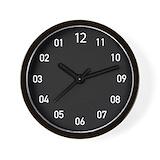 Backwards clock Wall Clocks