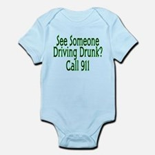 Call 911 Infant Bodysuit