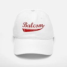 Balcom (red vintage) Baseball Baseball Cap