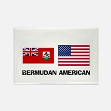Bermudan American Rectangle Magnet