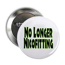 "No Longer Nicofitting 2.25"" Button (10 pack)"