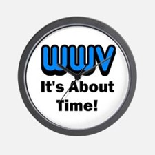WWV, It's About Time! Wall Clock
