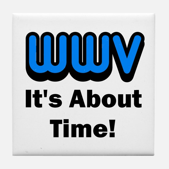 WWV, It's About Time! Tile Coaster