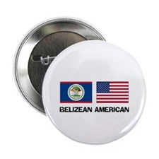 "Belizean American 2.25"" Button"