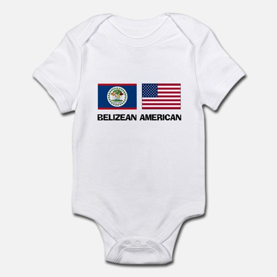 Belizean American Infant Bodysuit